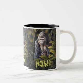 "Gorilla ""NEED COFFEE NOW"" mug"