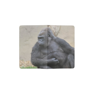 gorilla pocket moleskine notebook cover with notebook