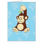 Gorilla notecard greeting cards