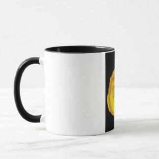 Gorilla or Ape, Close Up Face, Yellow Mug
