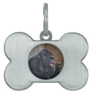 Gorilla Pet Tag