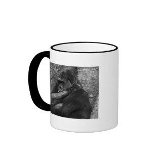 Gorilla Photo Coffee Mugs