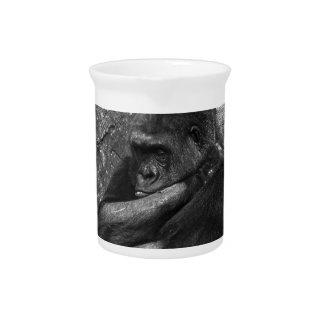 Gorilla Photo Beverage Pitcher