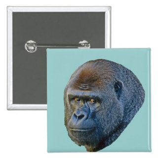 Gorilla Picture Pinback Buttons