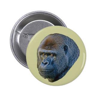 Gorilla Picture Pinback Button