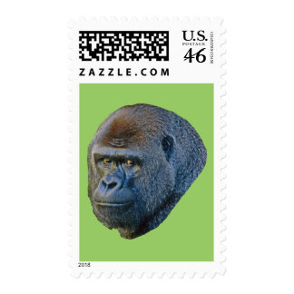 Gorilla Picture Postage Stamps