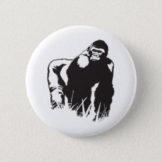 Gorilla Pinback Button
