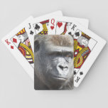 """Gorilla Playing Cards<br><div class=""""desc"""">Playing cards featuring a photo of a gorilla.</div>"""