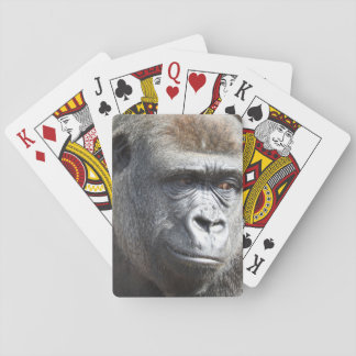 Gorilla Playing Cards
