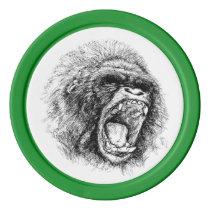 Gorilla Poker Chip Set