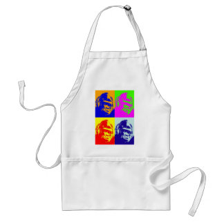 Gorilla Pop Art Adult Apron