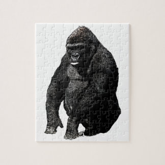Gorilla Pop Art Jigsaw Puzzle