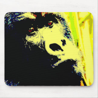 Gorilla Pop Art Mouse Pad