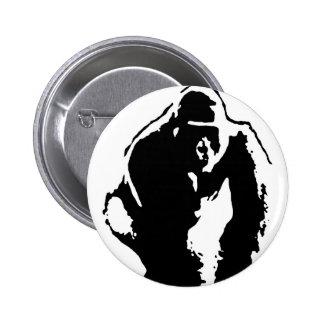 Gorilla Pop Art Pinback Button