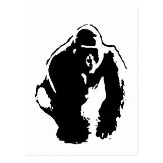 Gorilla Pop Art Postcard