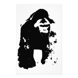 Gorilla Pop Art Stationery