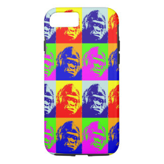 Gorilla Pop Art Tough iPhone 7 Case