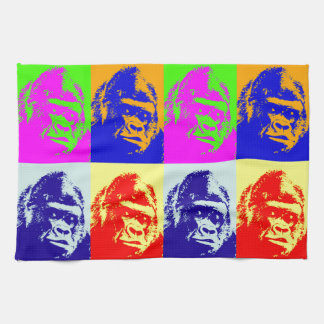 Gorilla Pop Art Towel