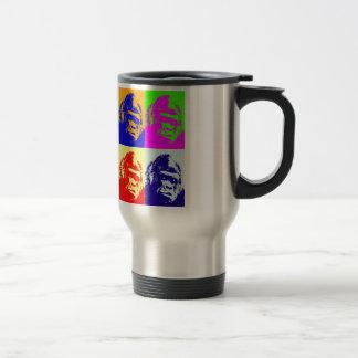 Gorilla Pop Art Travel Mug