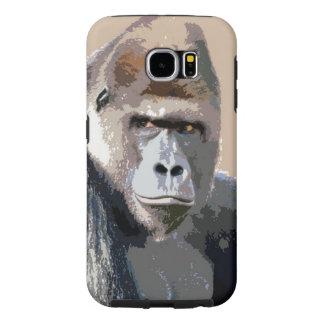 Gorilla Portrait Samsung Galaxy S6 Cases