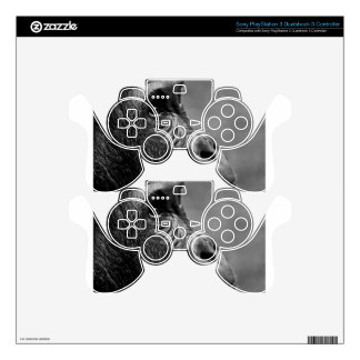 Gorilla Portrait Decal For PS3 Controller