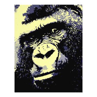 Gorilla Portrait Flyer