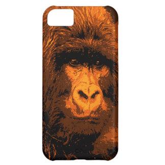 Gorilla Portrait iPhone 5C Cases