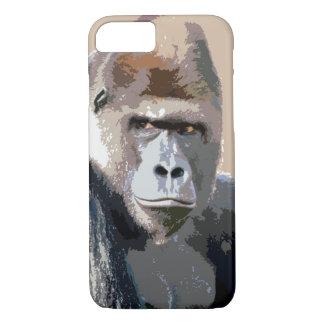 Gorilla Portrait iPhone 7 Case