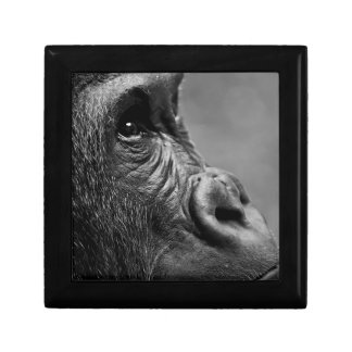 Gorilla Portrait Keepsake Box