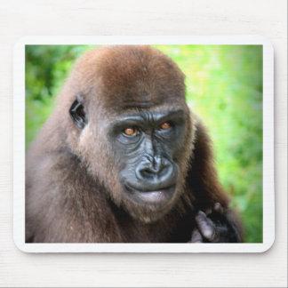 Gorilla Portrait Mouse Pad
