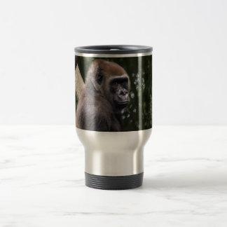 Gorilla Portrait Coffee Mugs