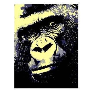 Gorilla Portrait Postcard