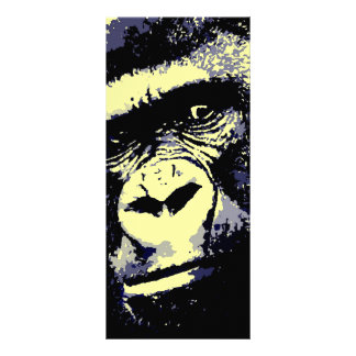 Gorilla Portrait Rack Card
