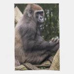 Gorilla Portrait Towel