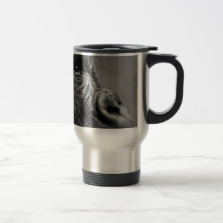 Gorilla Portrait Travel Mug