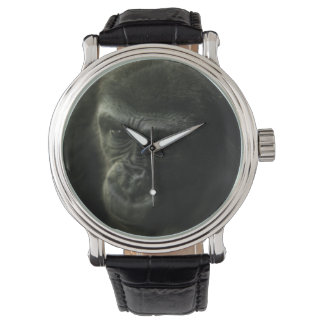 Gorilla Portrait Wrist Watch