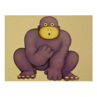 gorilla post card