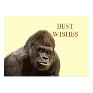 Gorilla Pout Business Card