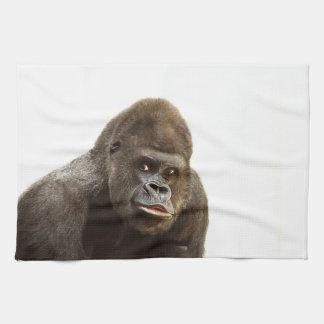 Gorilla Pout Hand Towel