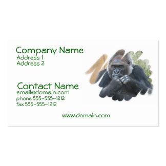 Gorilla Primate Business Card