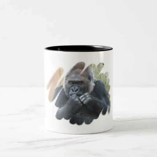 Gorilla Primate Coffee Mug
