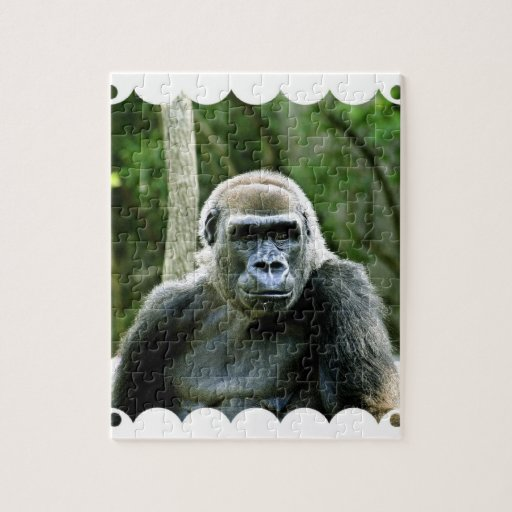 Gorilla Profile Puzzle