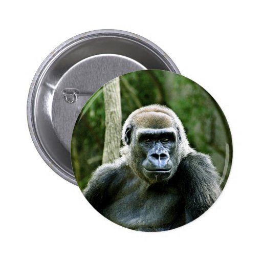 Gorilla Profile Round Button