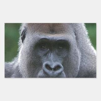 """""""Gorilla"""" Rectangular Sticker"""