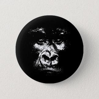 Gorilla Shadows Pinback Button
