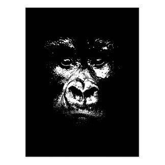 Gorilla Shadows Postcard