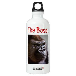 Gorilla Silverback the Boss Aluminum Water Bottle