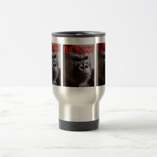 Gorilla Silverback The Boss Travel Mug