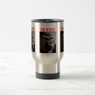 Gorilla Silverback The Boss Travel Mug