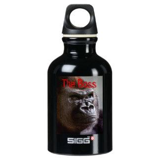 Gorilla Silverback the Boss Water Bottle